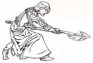 Sketch Warrior