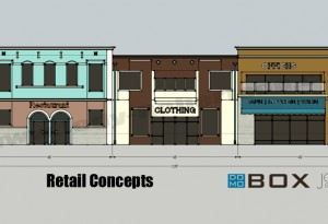 Retail Store Front Concept